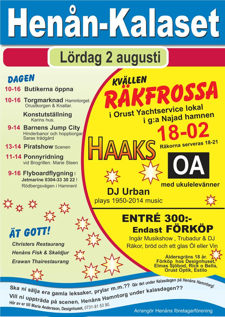 Henån-Kalaset-2014poster