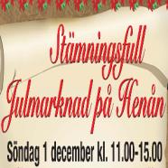 Välkomna till årets julmarknad på Hamntorget i Henån